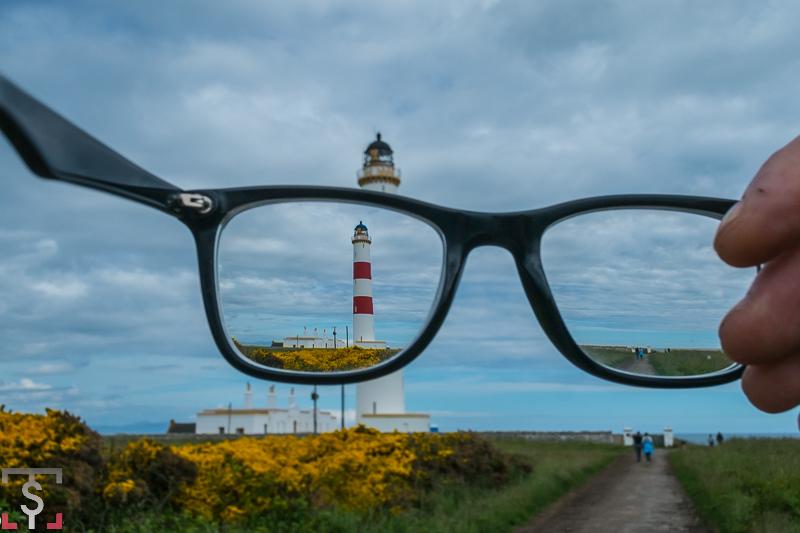 Faros de Scotland. Tarbat Ness lighthouse