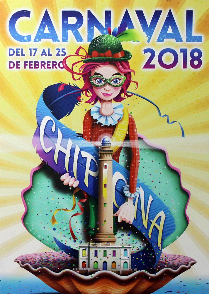 Carteles de carnaval. Faro de Chipiona 2011-2018