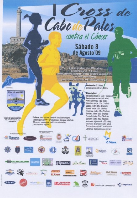 Carteles del Cross de Cabo de Palos 2009-2010