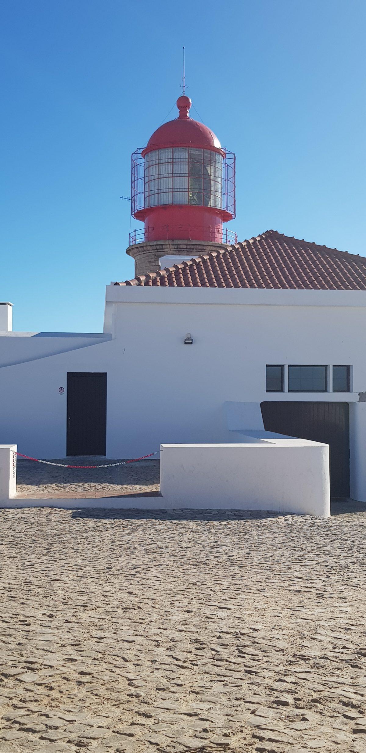 Os Faróis portugueses por Arual. Farol do Cabo São Vicente (3ª parte)