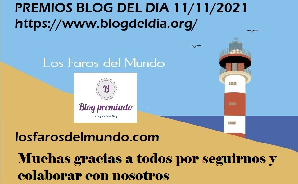 Premios Blogdeldia 11/11/21