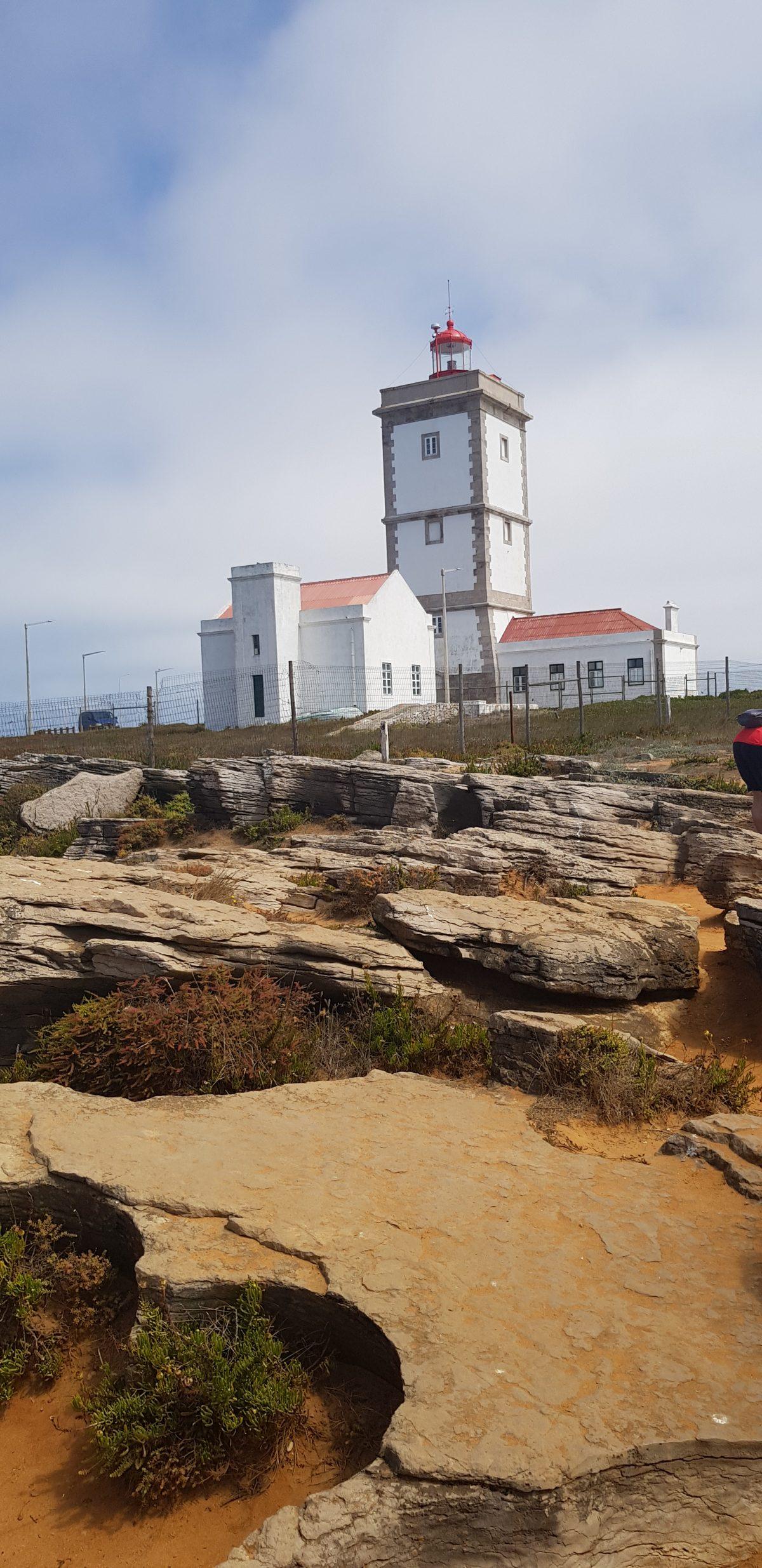 Os Faróis portugueses por Arual. Farol do Cabo Carvoeiro (2ª parte)