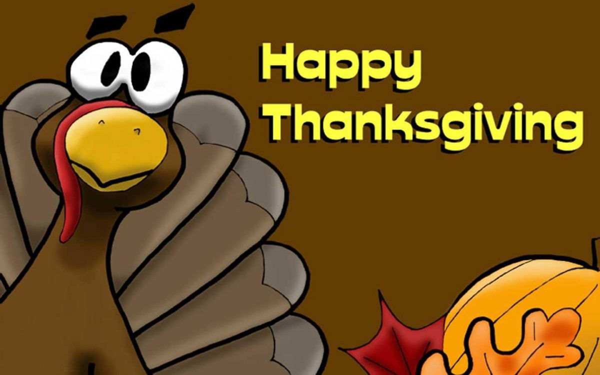 "Feliz día de Acción de Gracias ""Thanksgiving Day"""