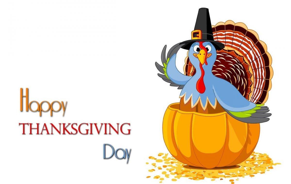 Feliz día de Acción de Gracias. Happy Thanksgiving Day!!