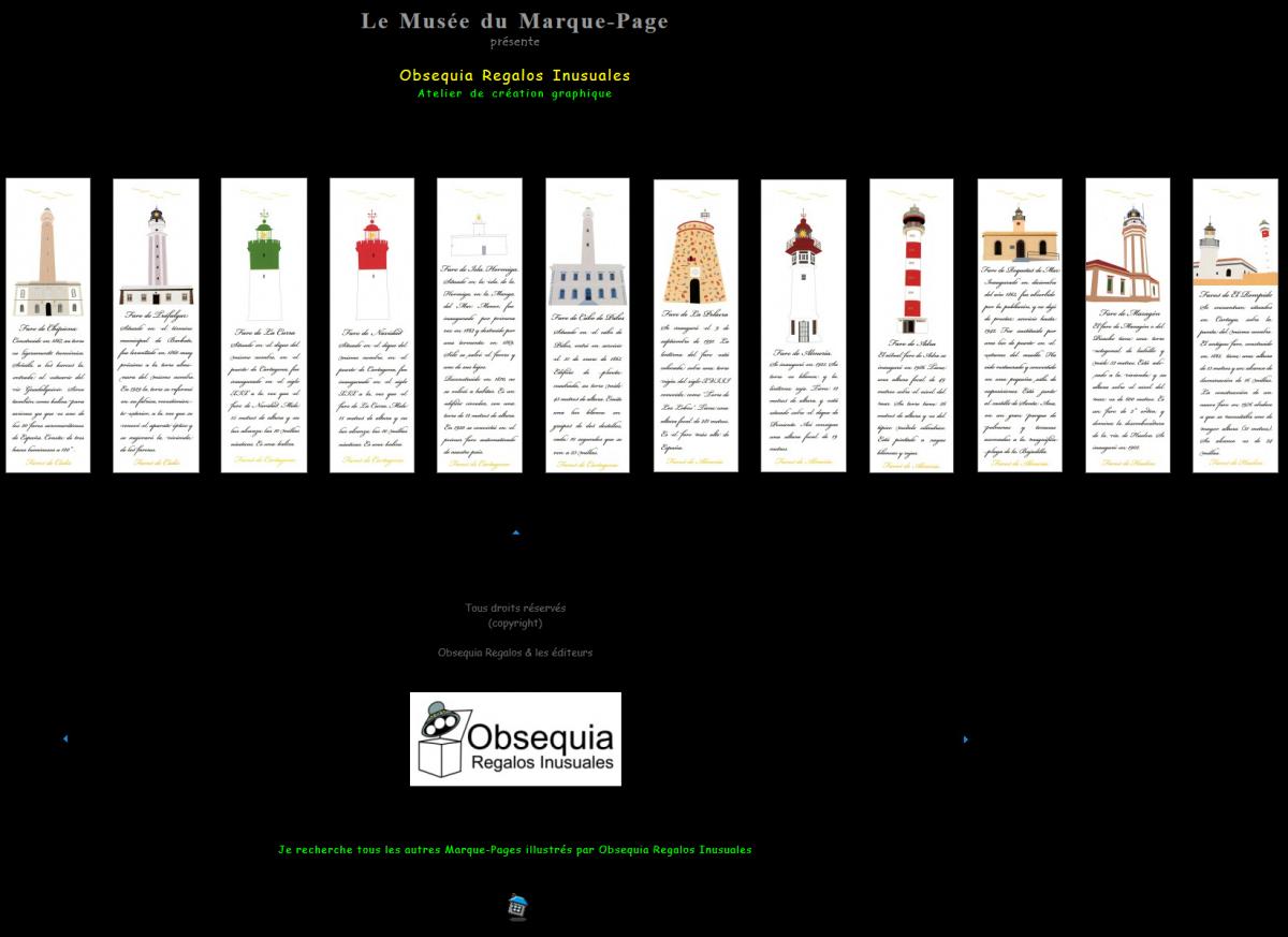 Le Musée du Marque-Page y Obsequia Regalos Inusuales se unen