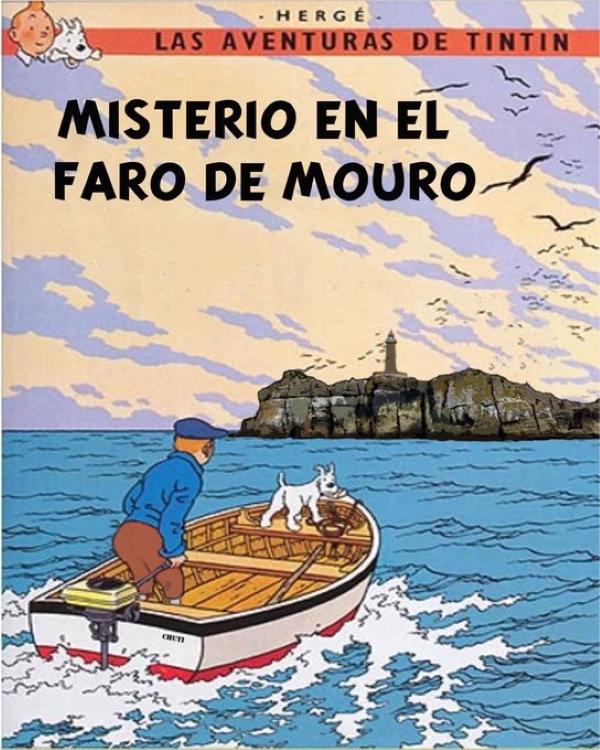 Santiago Arrarte, Tintín y los faros de Santander (1ª parte)