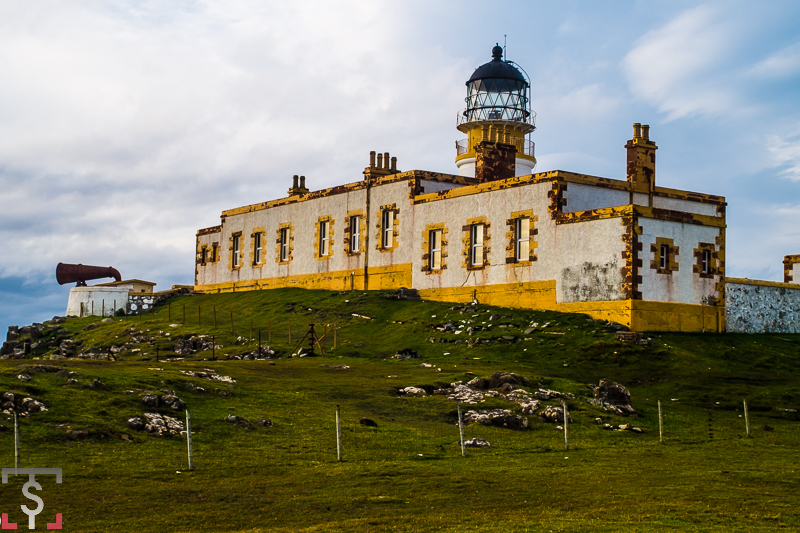 Faros de Scotland. Neist Point Lighthouse