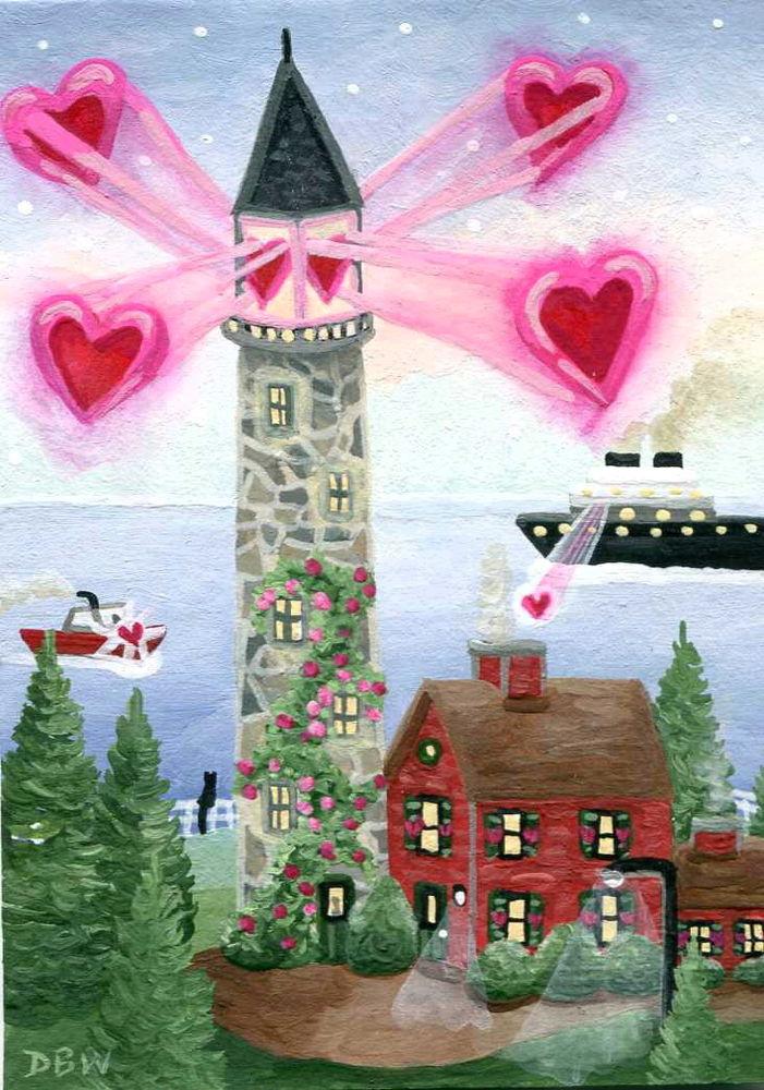Feliz día de San Valentín a todos los amantes de los faros