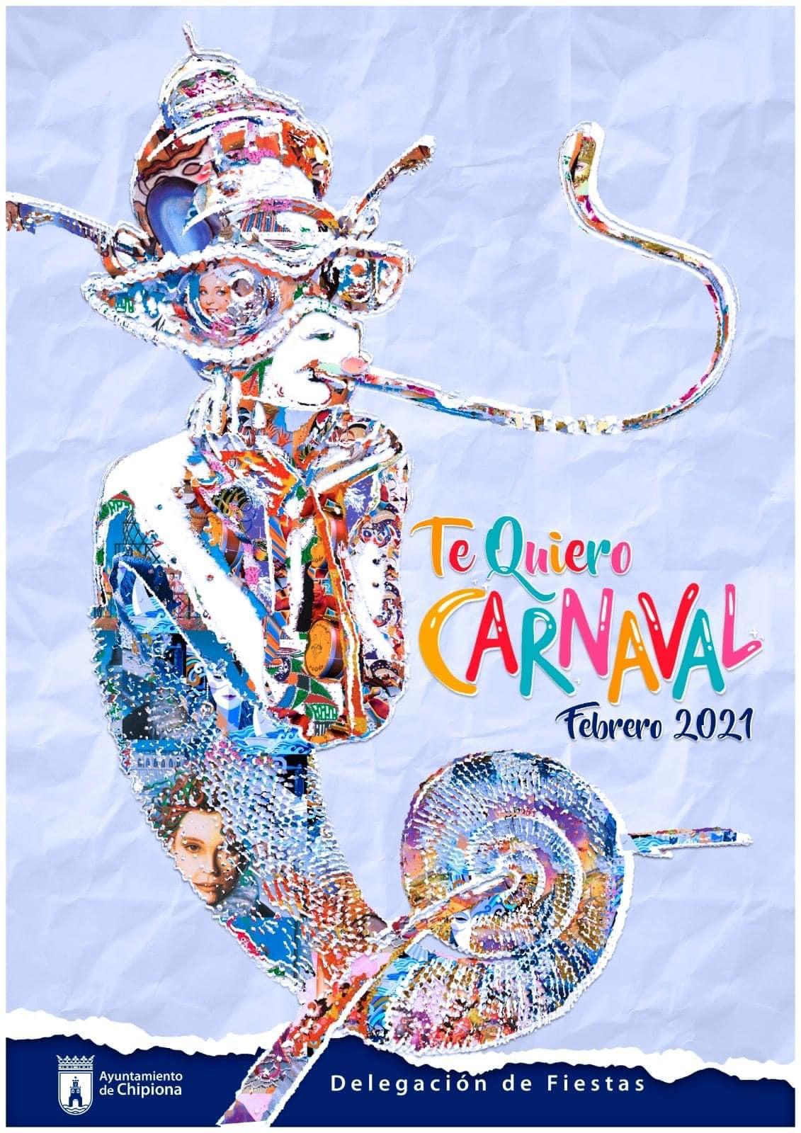 Carteles de Carnaval. Faro de Chipiona. 2021-