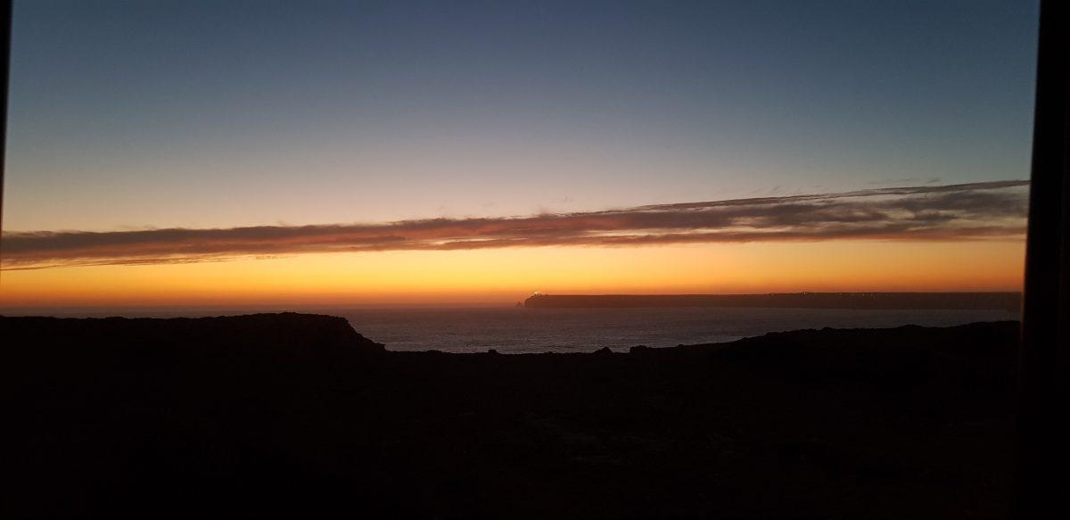 Os Faróis portugueses por Arual. Puesta de sol en el Farol do Cabo São Vicente