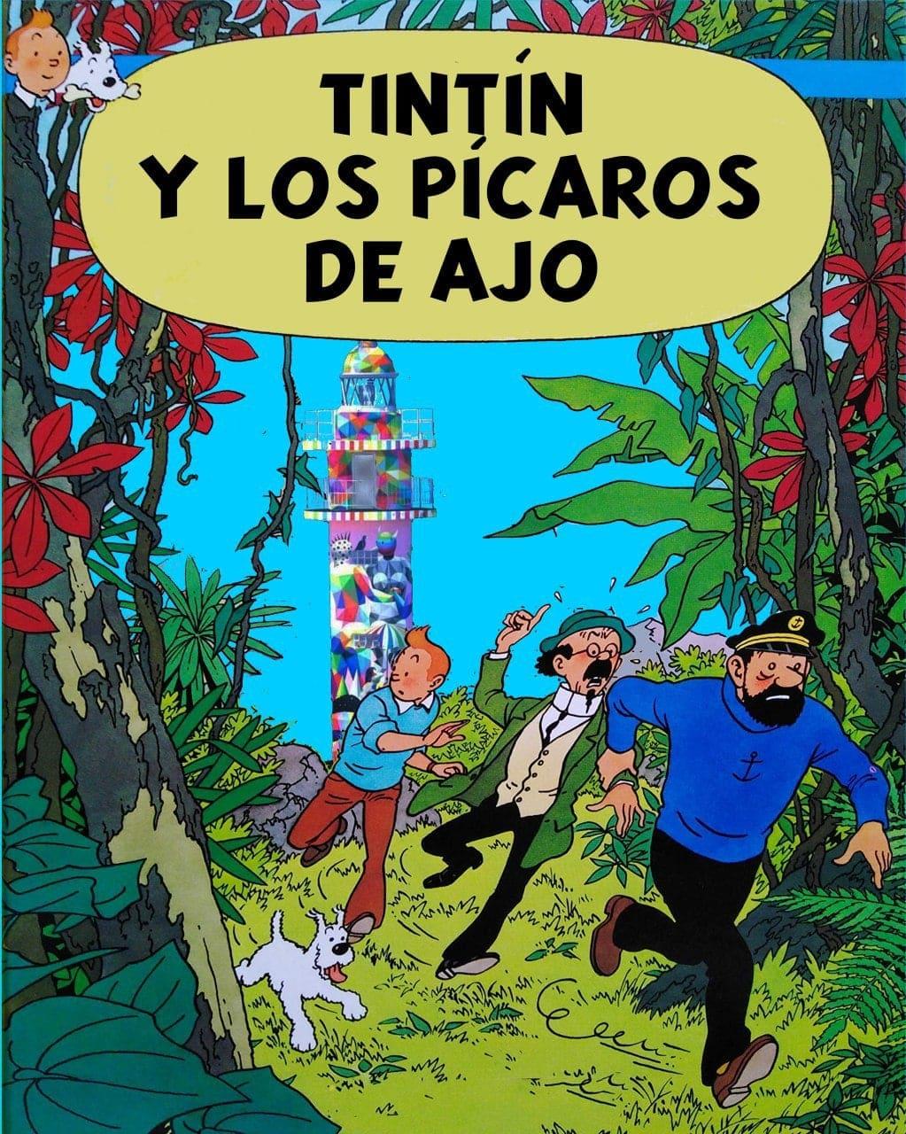 Santiago Arrarte, Tintín y los faros de Santander (2ª parte)