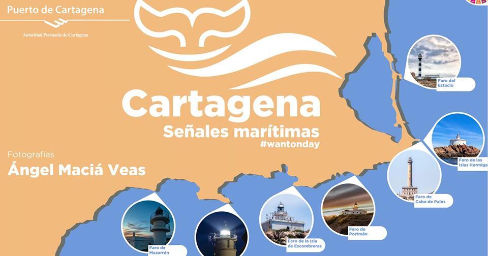 Exposición Cartagena -señales marítimas- por Ángel Maciá Veas
