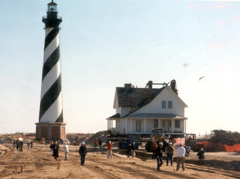 Faro del cabo Hatteras -Cape Hatteras Lighthouse- (Estados Unidos)
