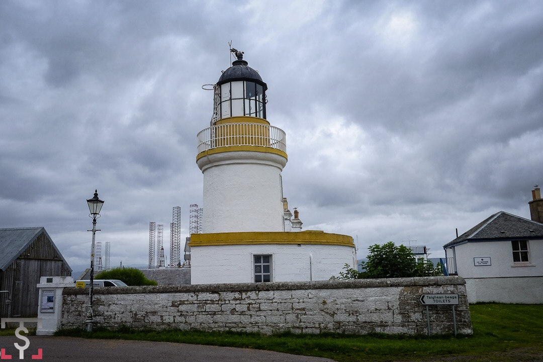 Faros de Scotland. Cromarty Lighthouse