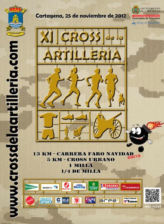 Carteles del Cross de la Artillería 2012-2019